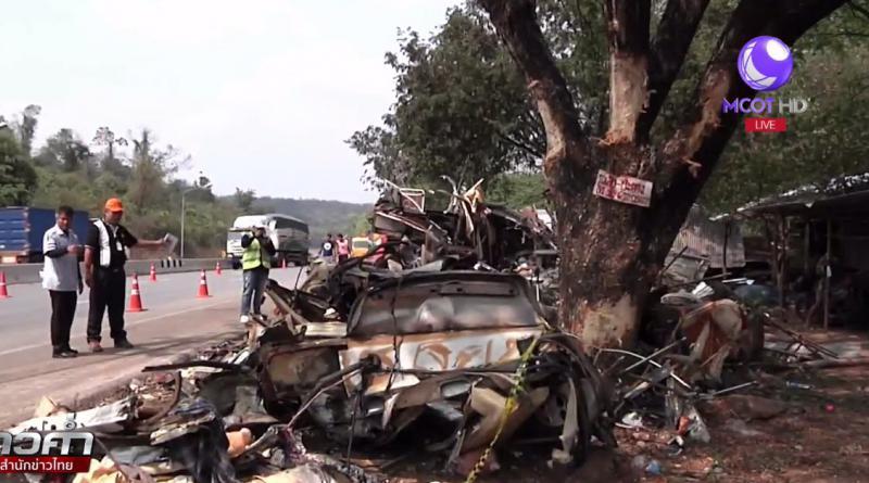 Horrific doubel-decker bus crash