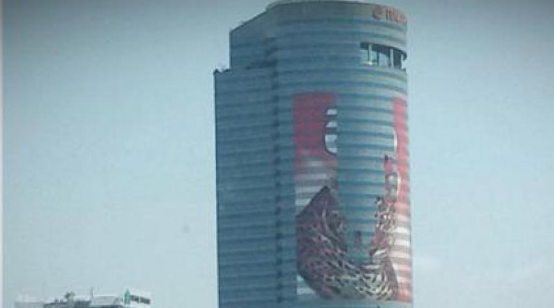 Italthai Tower removes wallscape alcohol ad