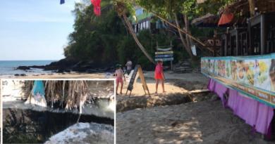 Lanta Island pollution