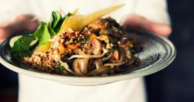 Pad Thai in Nan province