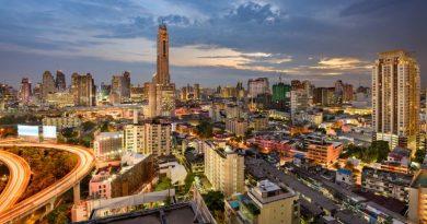 Resized Bangkok cityscape