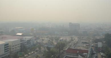 Smog in Lampang