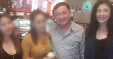 Thaksin and Yingluck in UAE