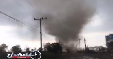 Tornado in Korat