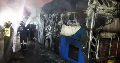 burnt tour bus Myanmar workers killed