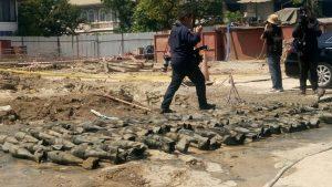 practice bombs found
