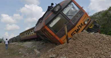 resized train derails