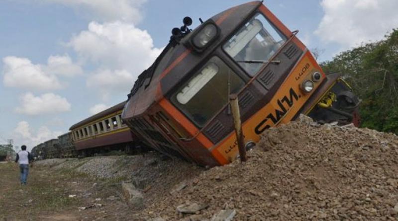 resized train derails