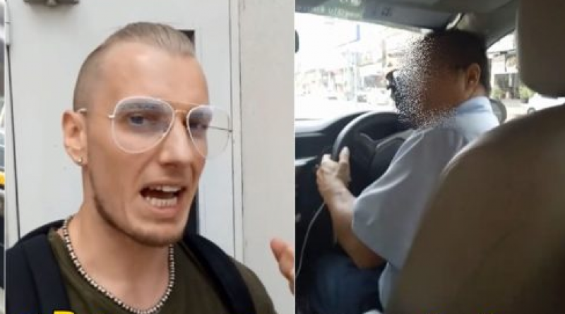 Foreigner relates bad taxi experience
