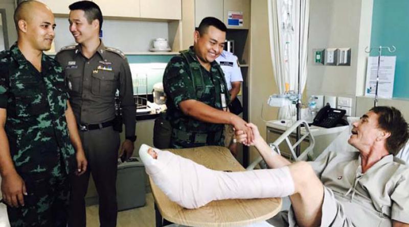 Hua Hin shark bite victim