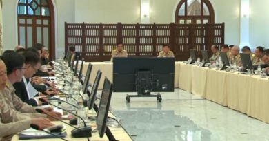 PM Prayut presiding over meeting