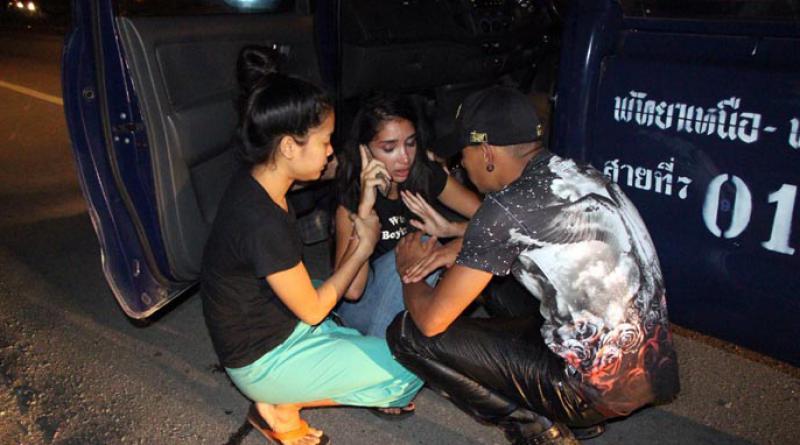 Song taew bus shot at in Pattaya