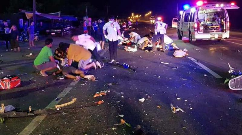 Bad crash 4 teenagers dead