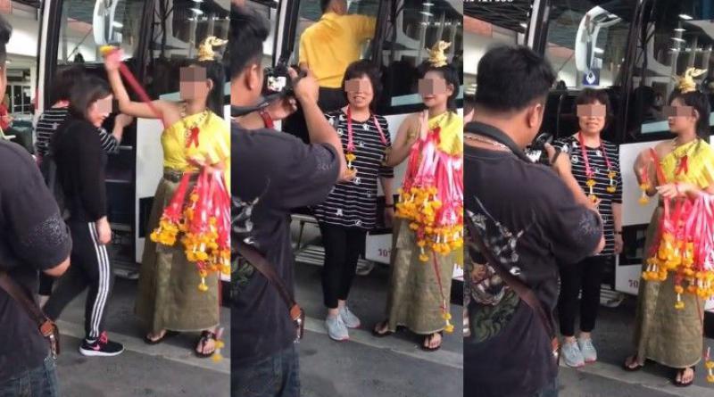 Bad-mannered Thai receptionist