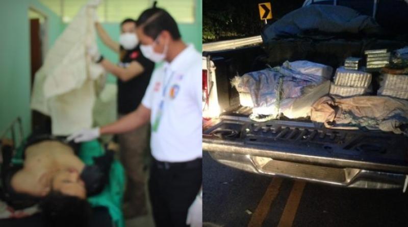 Drug runners shot dead