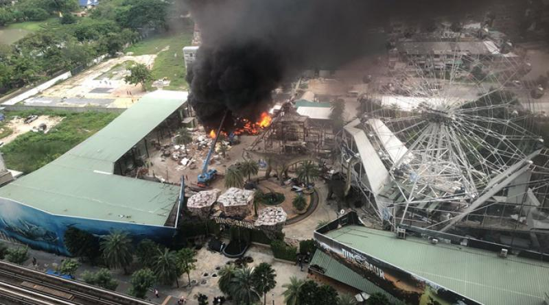 Fire Dinosaur Park