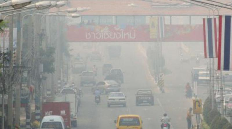 Heavy pollution Chiang Mai
