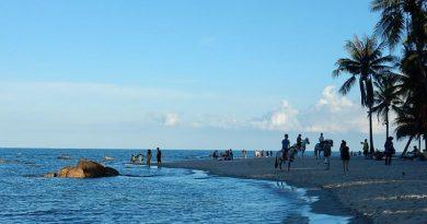 Hua Hin beach sunny day