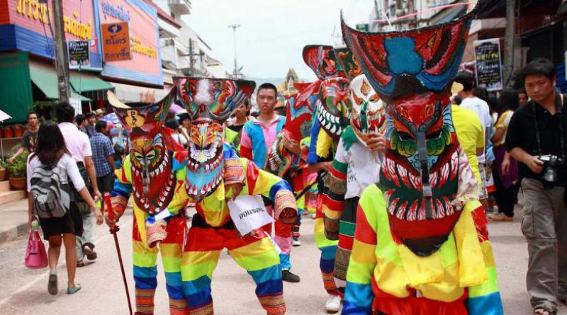 Loei ghost festival