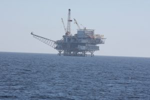 Oil Platform in California