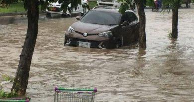 Phuket flooded