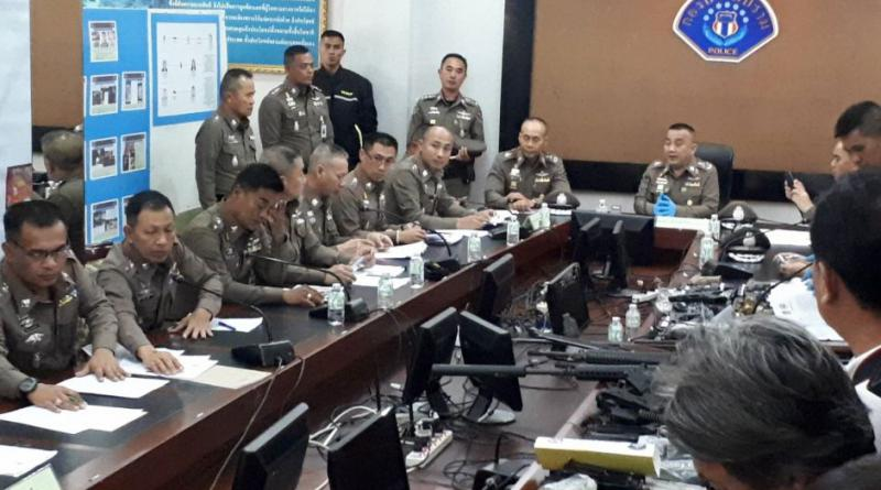 Police hold talks, war weapons seized