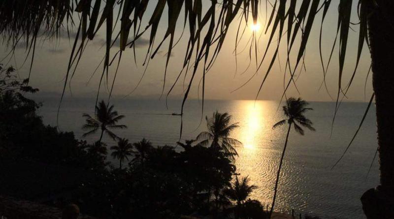 Sunset at Koh Samui