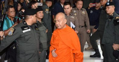 Wat Sa Ket abbot surrenders