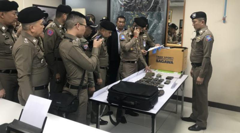 expired M16 magazines seized from Japanese at Don Mueang Airport