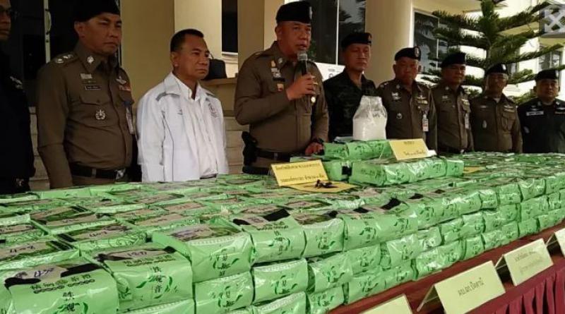 huge lot of crystal methamphetamine seized