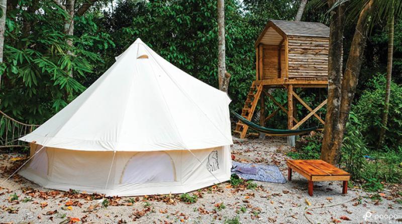Ban Nai Mong Treehouse homestay Ranong