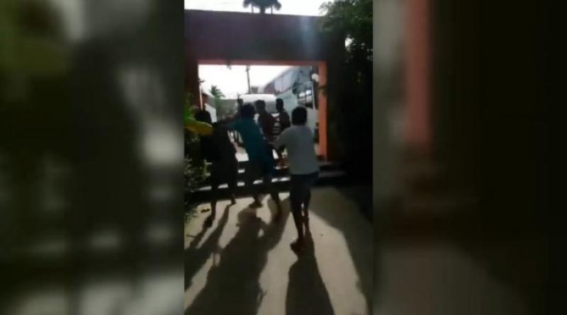 Chinese tourist beaten up