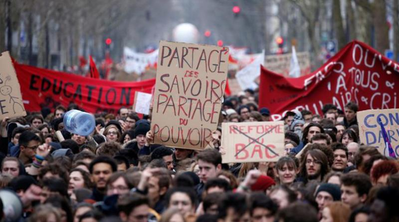 Economic protest France