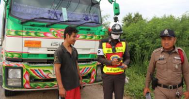 Petrol stolen from truck