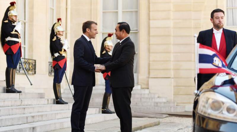 Prayut and Macron