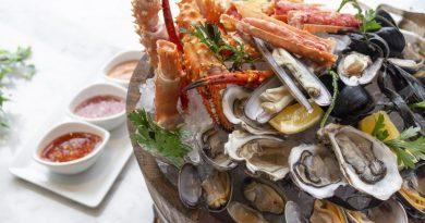 Seafood at Sheraton Grande Sukhumvit