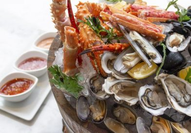 Special seafood at Rossini's