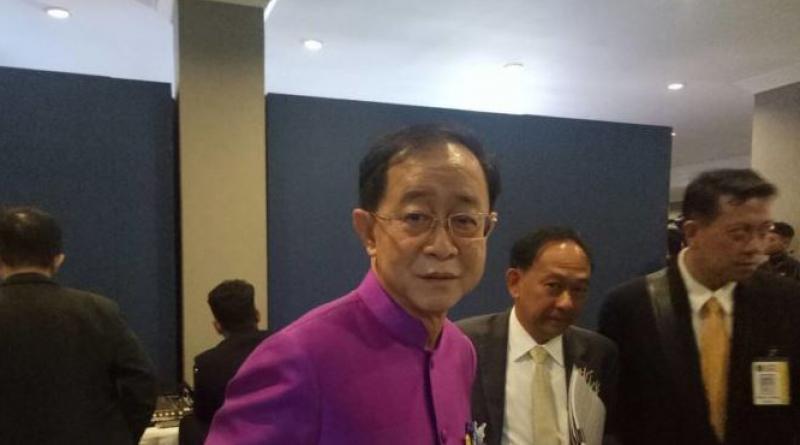 Transport Minister Akhom