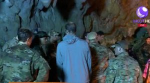 US troops cave rescue