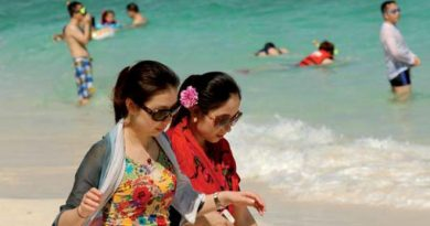 Chinese tourists in Phuket