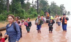 Floods in Laos