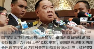 Gen Prawit attacked by Chinese netizens