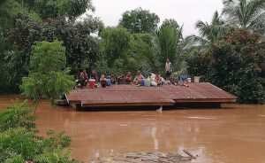 Lao dam collapse