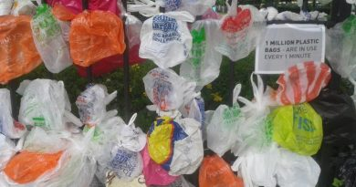 Million plastic bags a minute
