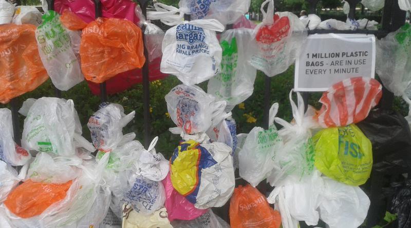 Million plastic bags a minute