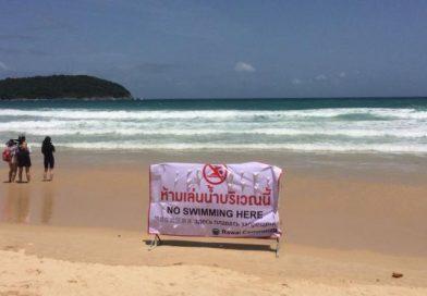 Croc alert! 2 Phuket beaches closed