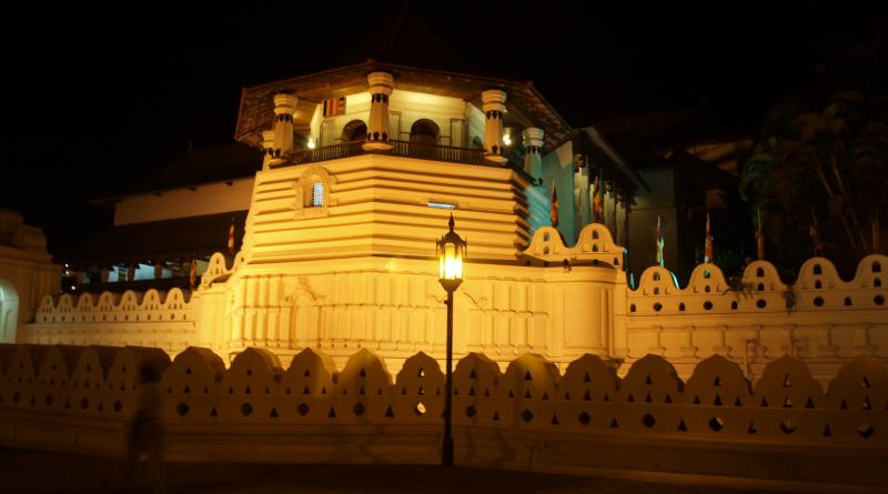 Temple of Sacred Tooth Sri Lanka,Kandy