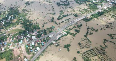 Ubon Ratchathani flooded
