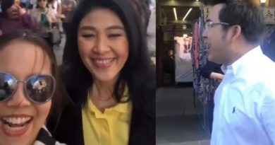 Yingluck in London