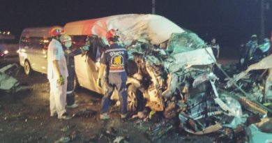 bad pileup in Korat
